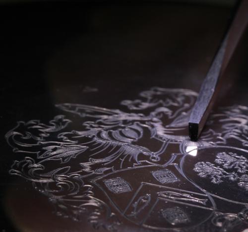 Handgravure